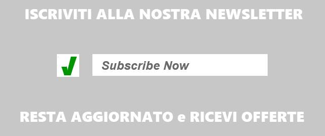 Iscrizione Newsletter - Subscribe to our Newsletter